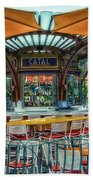 Catal Outdoor Cafe Downtown Disneyland 01 Beach Towel