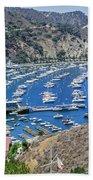 Catalina Harbor Beach Towel
