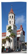 Cathedral Basilica Of St. Augustine Beach Towel