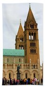 Cathedral In Pecs Beach Towel
