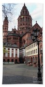 Cathedral - Mainz Beach Towel