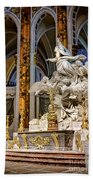 Cathedral Of Chartres Altar Beach Towel