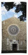Cathedral Of San Giusto Beach Towel