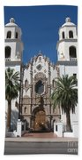 Cathedral Of St. Augustine Tuscon Beach Towel