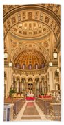 Cathedral Of The Sacred Heart 2 Beach Towel
