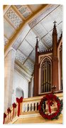 Cathedral Organ Beach Towel