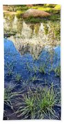 Cathedral Reflection Beach Towel