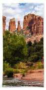 Cathedral Rock Beach Towel by Fred Larson