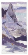 Cathedral Rock  Iona Beach Towel