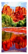 Cathedral Rock Sedona Arizona Beach Towel