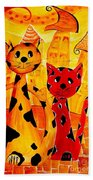 Cats 650 Beach Towel