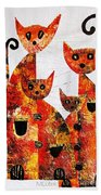 Cats 727 Beach Towel