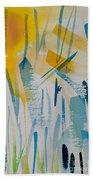 Cattail Sun Beach Towel