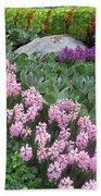Catterpillar Large Flower Garden Vegas Beach Towel