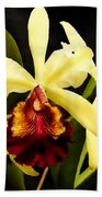 Cattleya Too Beach Towel