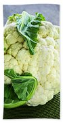 Cauliflower Beach Towel