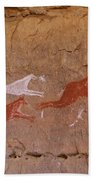 Cave Art Beach Towel