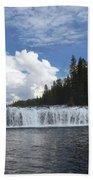 Cave Falls Beach Towel
