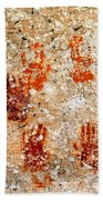 Cave Of A Thousand Hands Beach Towel