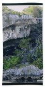 Caves In The Bahamas Beach Towel