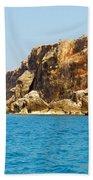 Cayman Brac And Lil Cyb Beach Towel