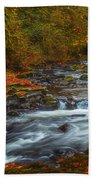 Cedar Creek Morning Beach Towel