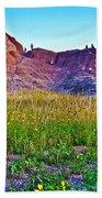 Cedar Pass At Dusk In Badlands National Park-south Dakota Beach Towel