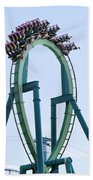 Cedar Point Roller Coaster Beach Towel