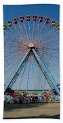 Cedar Point Sunday Beach Towel