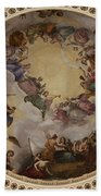 Ceiling Fresco - Cupola Capitol Washington Dc Beach Towel