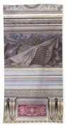 Ceiling Study Chateau De Chantilly Beach Towel