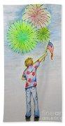 Celebrate America Beach Towel