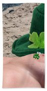 Celebrate St Pattys Day Beach Towel
