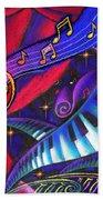 Celebration Beach Towel by Leon Zernitsky