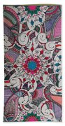 Celebration Of Design Beach Towel by M Ande