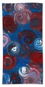 Celestial Bouquet Beach Towel