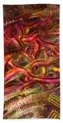 Cell Dreaming 9 Beach Towel by Russell Kightley