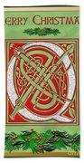 Celtic Christmas Q Initial Beach Sheet