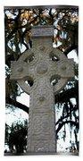 Celtic Cross In Savannah Beach Towel