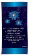 Celtic New Year Beach Sheet