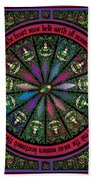 Celtic Sleeping Beauty Part I The Gifts Beach Towel