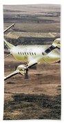 Cemair Beech 1900 Plane Airplane Flying Flight Beach Towel
