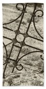Cemetery Art Beach Towel
