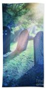 Cemetery Light Beach Towel