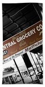 Central Grocery Beach Towel