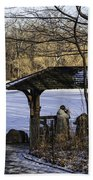 Central Park Photo Op 2 - Nyc Beach Towel by Madeline Ellis