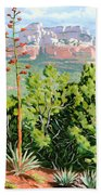 Century Plant - Sedona Beach Towel