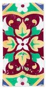 Ceramic Tile Closeup Beach Towel