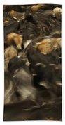 Chagras Round-up Cattle Ecuador Beach Towel