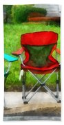 Chair Family Beach Towel